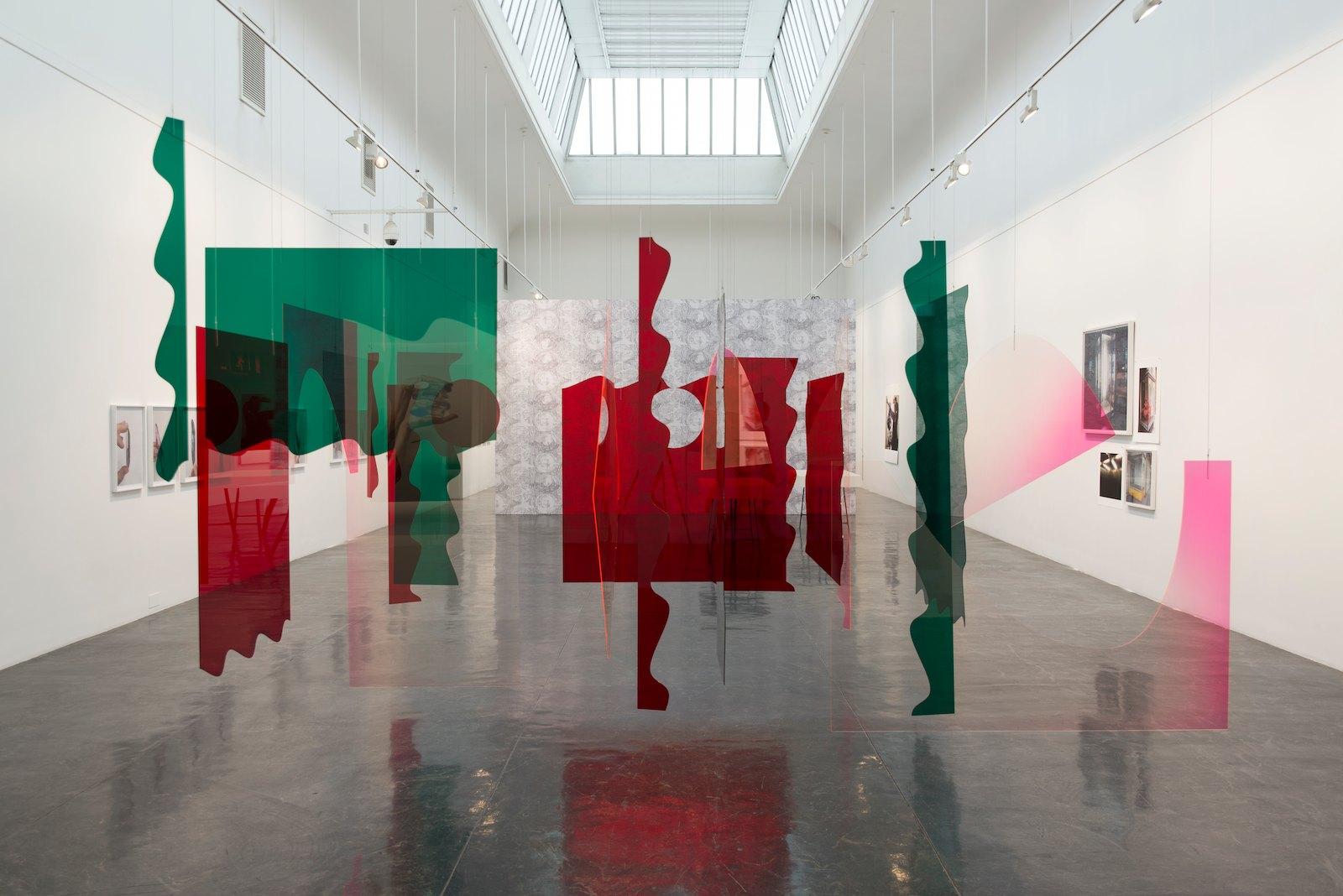 interview, 1968 / 2014, plexiglas, variable dimensions, image courtesy of Kunstnernes Hus, photo: Christina Leithe Hansen