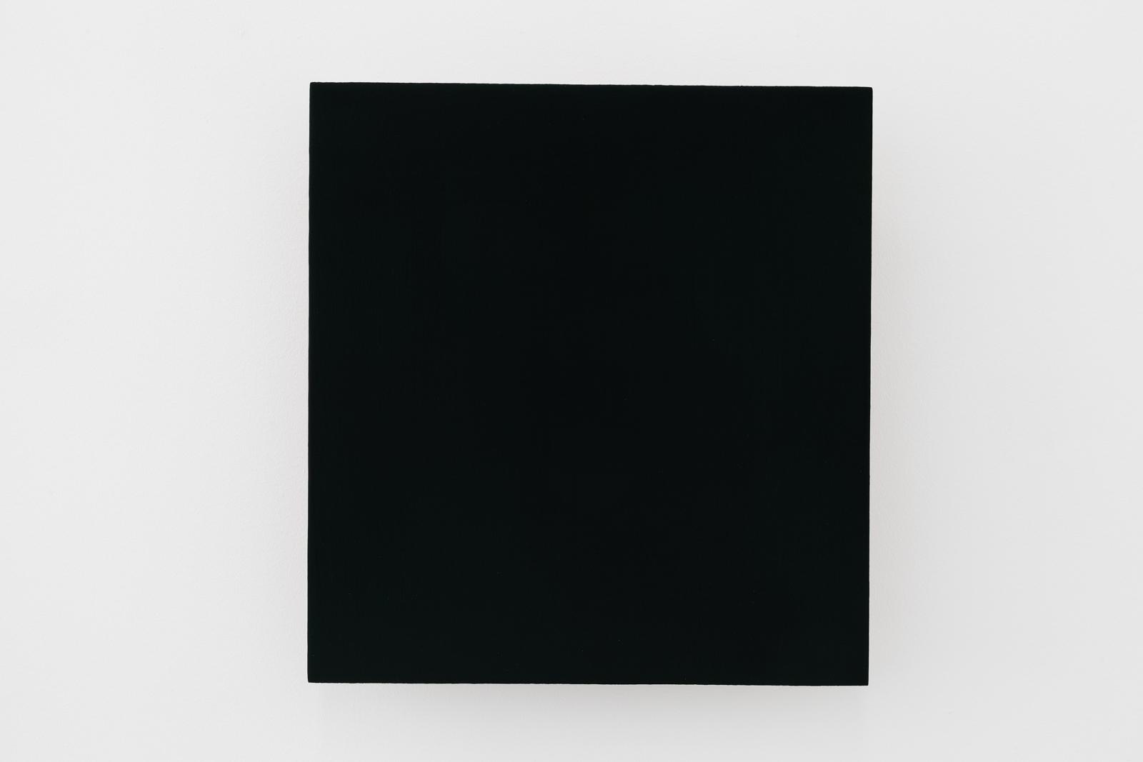 Günter Umberg, Untitled, 1995/1998, Polymer, pigment and dammar on wood, 35 x 32,5 cm