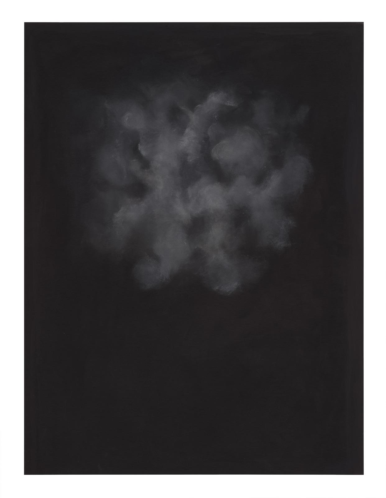 Sofia Ekström, Ouarry Mix Mottled Gray, 2017, Acrylic on canvas mounted on aluminium, 120 x 90 cm