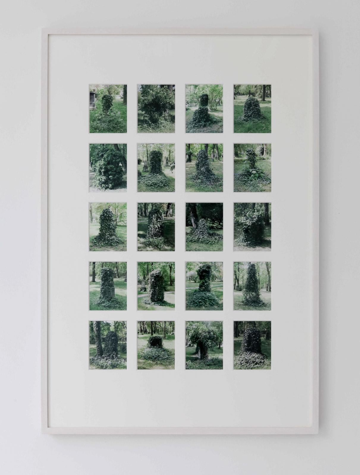 Lisa Tan, Alter Nordfriedhof, 2007-2011, 20 C-print photographs in artists frame, 93,5 x 63,5 cm, Edition 5