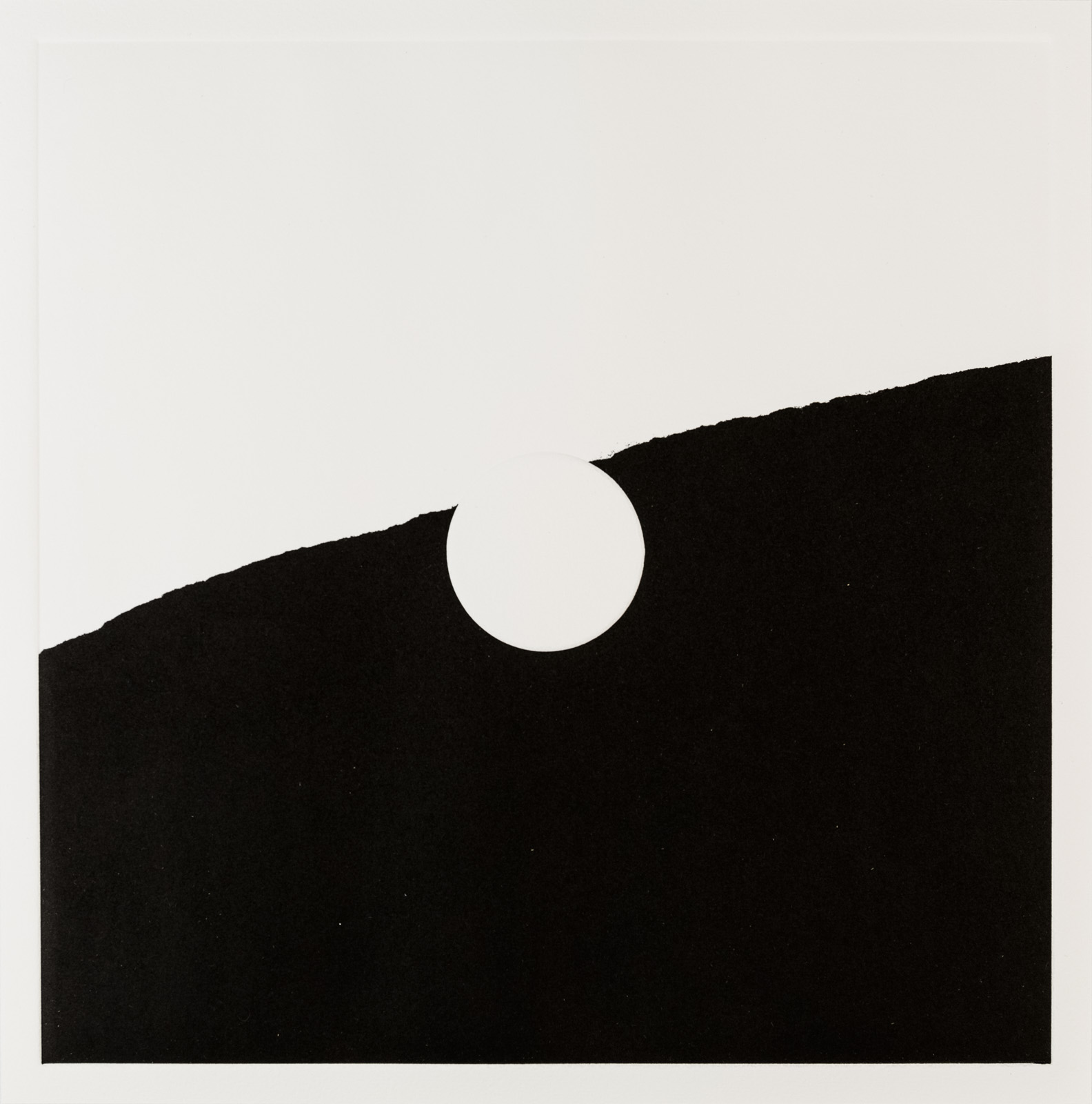 Kristina Matousch, What Lies Ahead 1, 2017, Unique print from an edition of 8, 31,5 x 31,5 cm