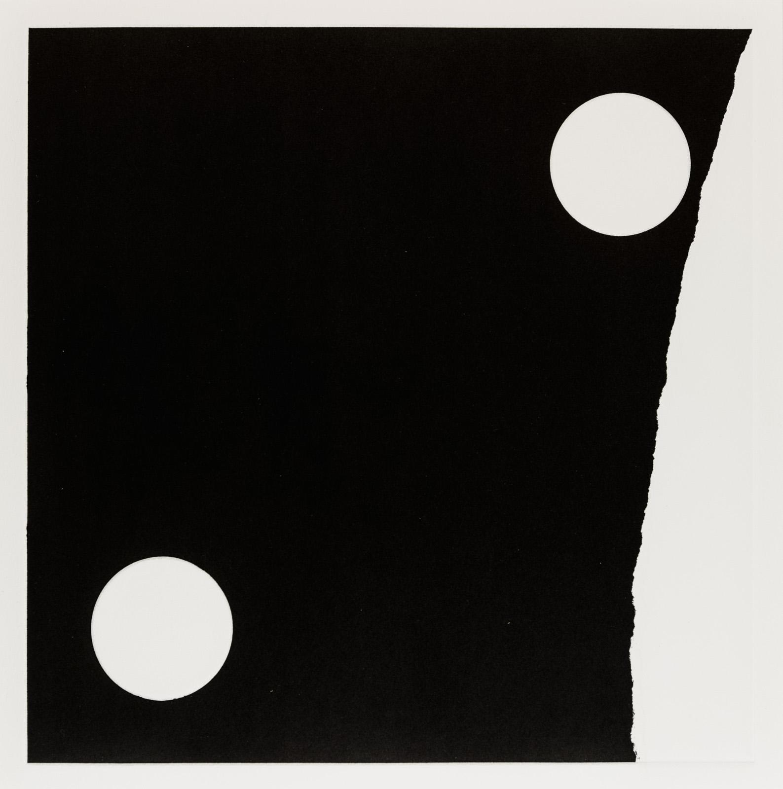 Kristina Matousch, What Lies Ahead 2, 2017, Unique print from an edition of 8, 31,5 x 31,5 cm