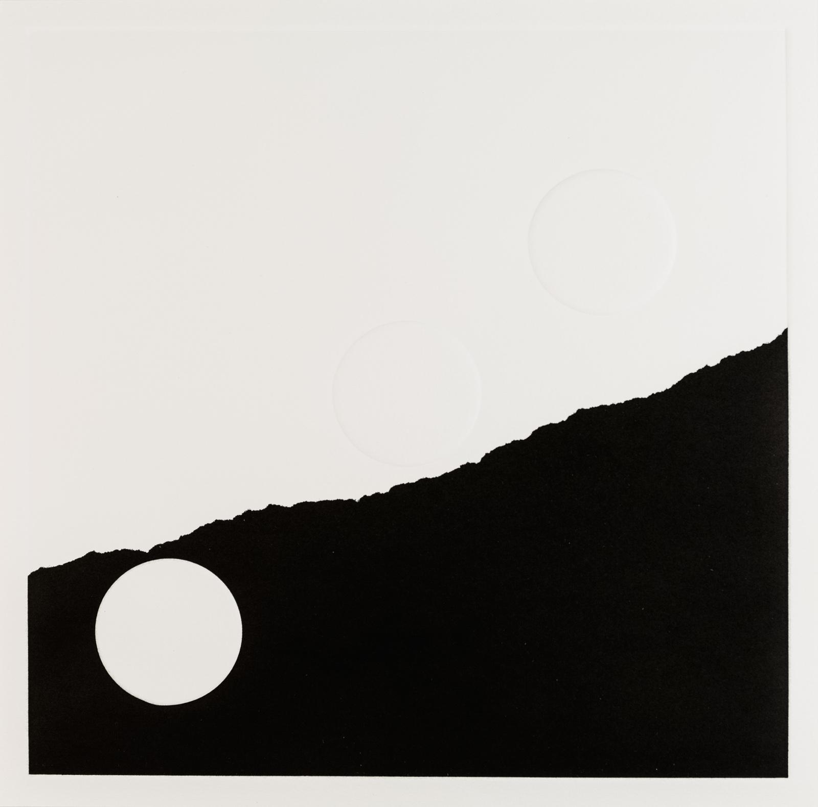 Kristina Matousch, What Lies Ahead 3, 2017, Unique print from an edition of 8, 31,5 x 31,5 cm