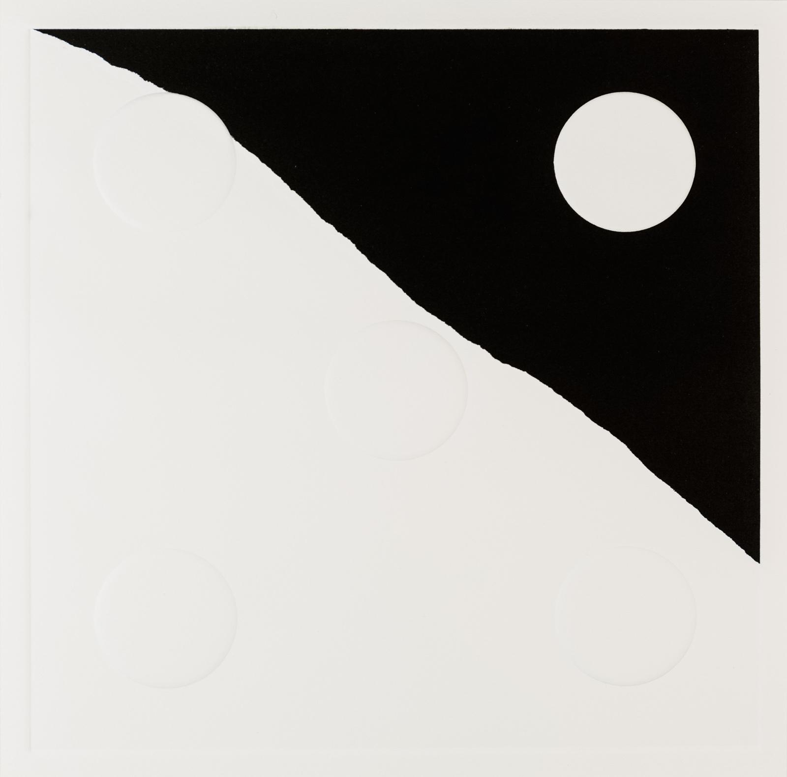 Kristina Matousch, What Lies Ahead 5, 2017, Unique print from an edition of 8, 31,5 x 31,5 cm