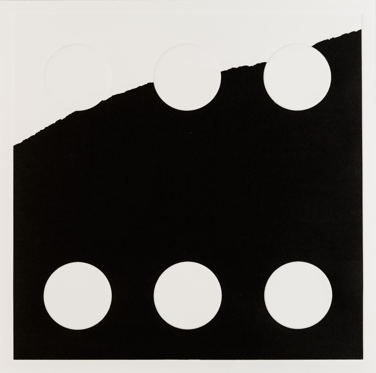 Kristina Matousch, What Lies Ahead 6, 2017, Unique print from an edition of 8, 31,5 x 31,5 cm