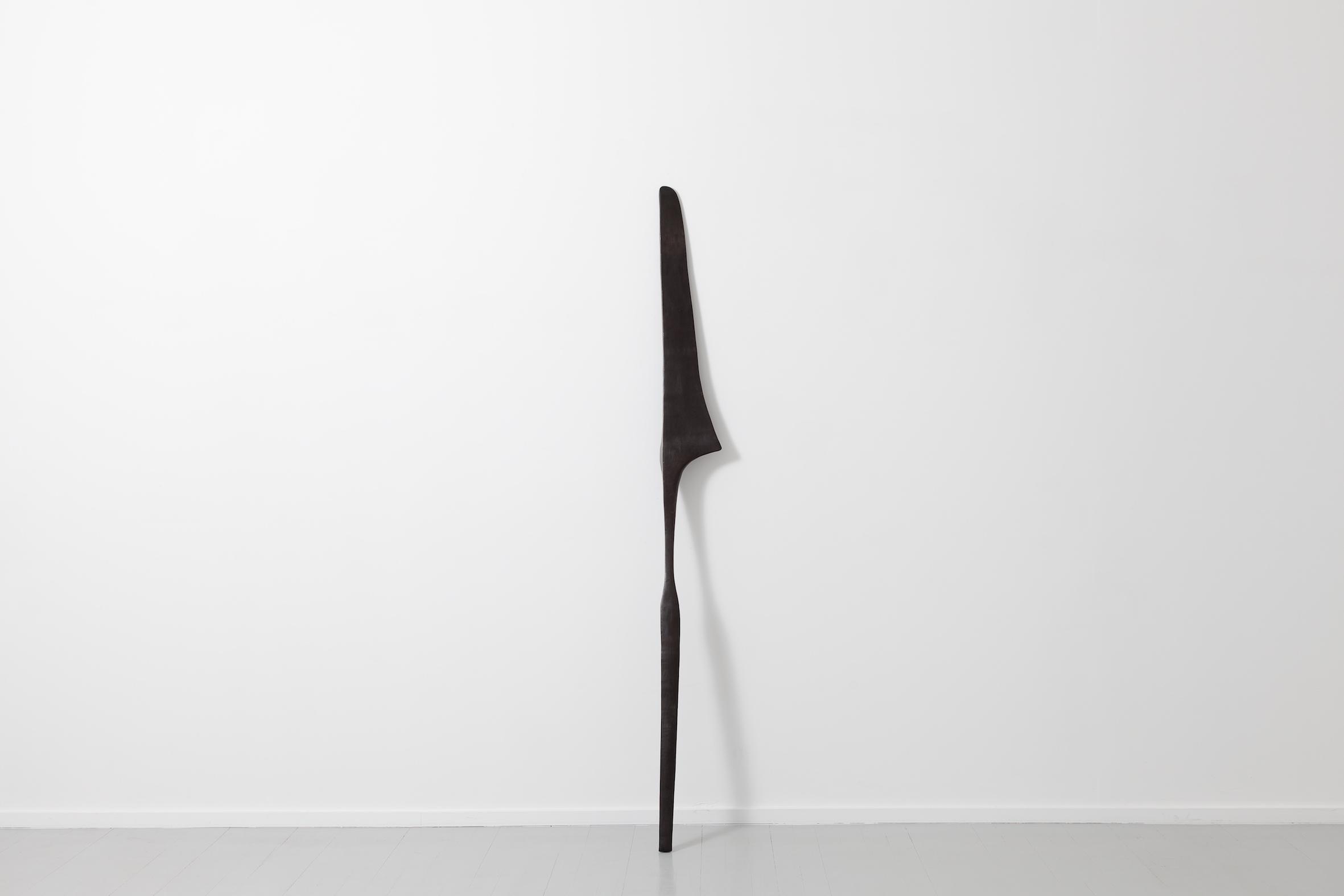 Sculpture VIII, 2017, patinated bronze, 195h x 19w x 30d cm