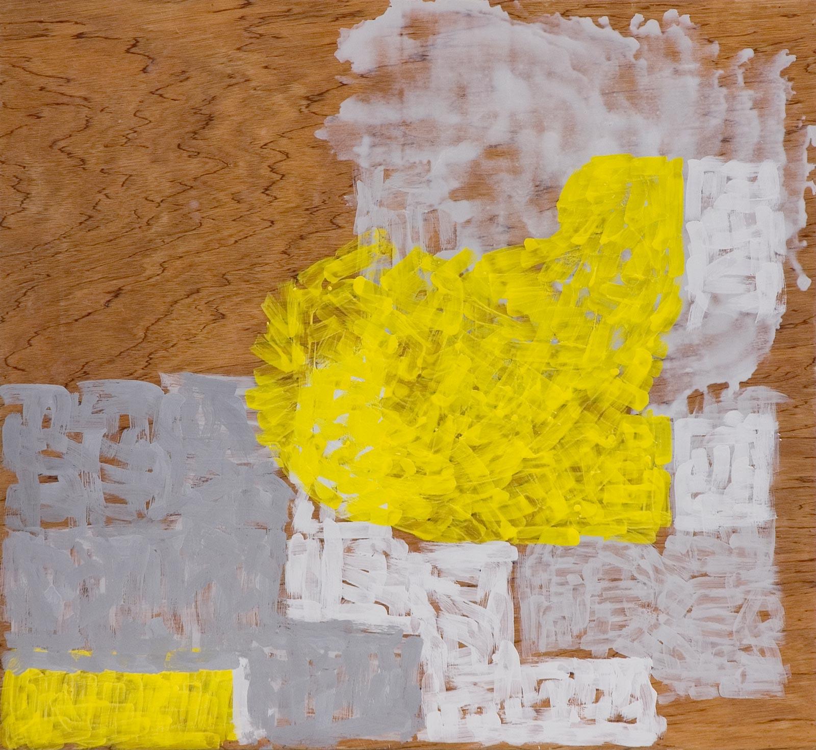Maridalen #2, 2004, encaustic on plywood,107 x 117 cm