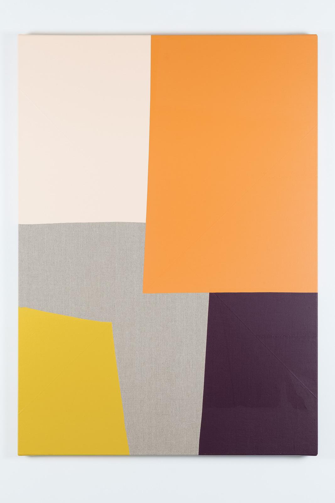 Dip / 3, Acrylic on linen canvas, 139 x 100 x 3,5 cm