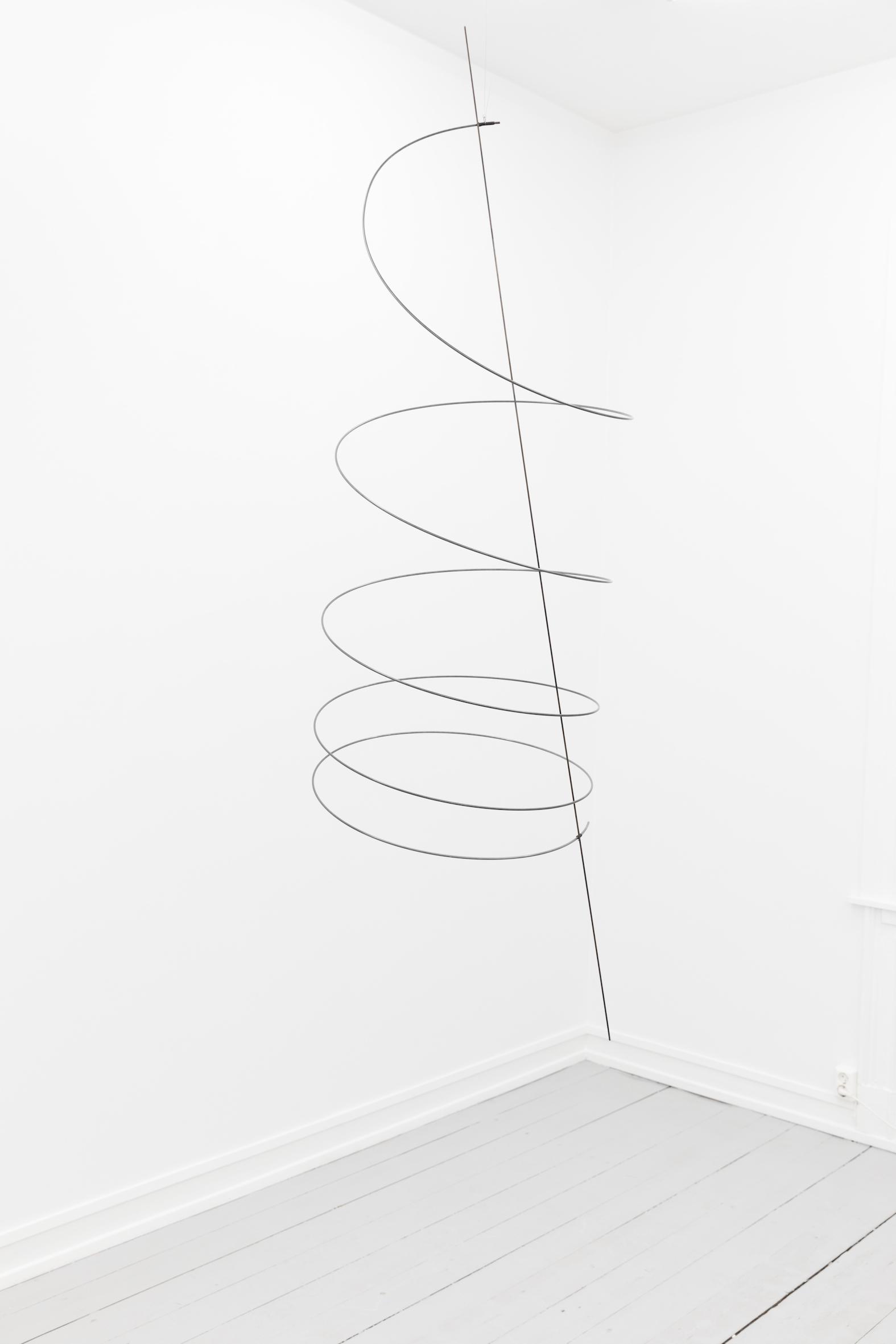 Sculpture 2, 2018, Steel, 212 x 60 x 67 cm, Unique