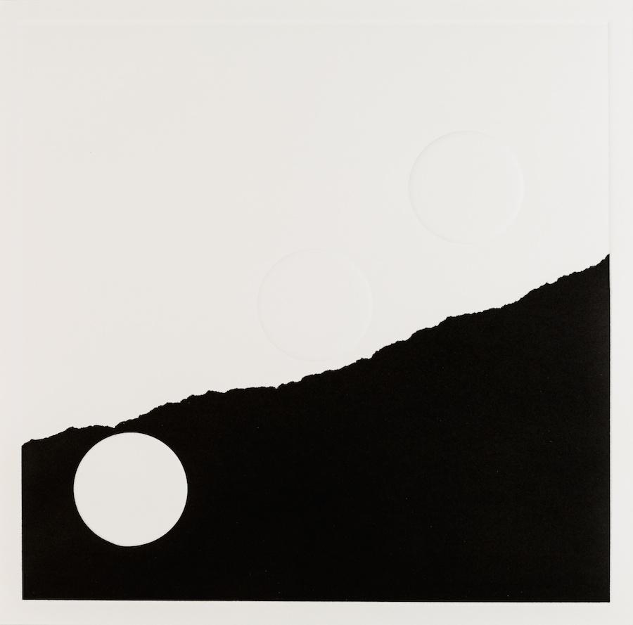 What Lies Ahead 3, 2017, Monotype, 31,5 x 31,5 cm