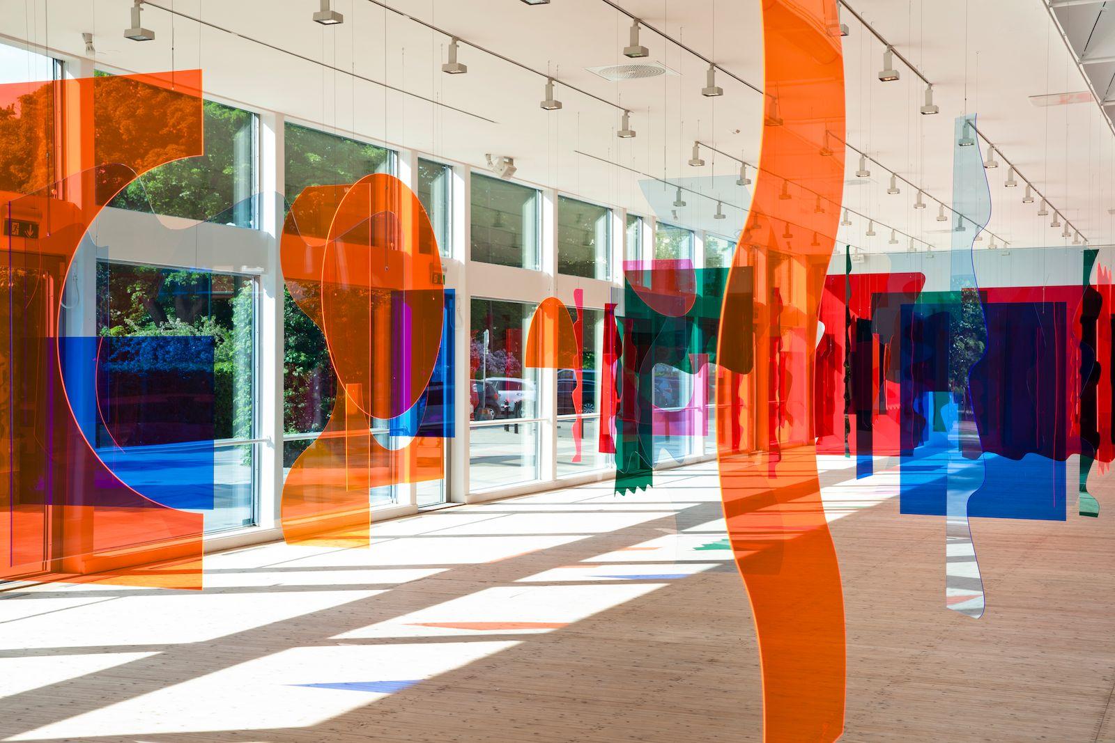Installation view, Siri Aurdal 'Continuum', Malmö Konsthall, Malmö, Sweden 2018