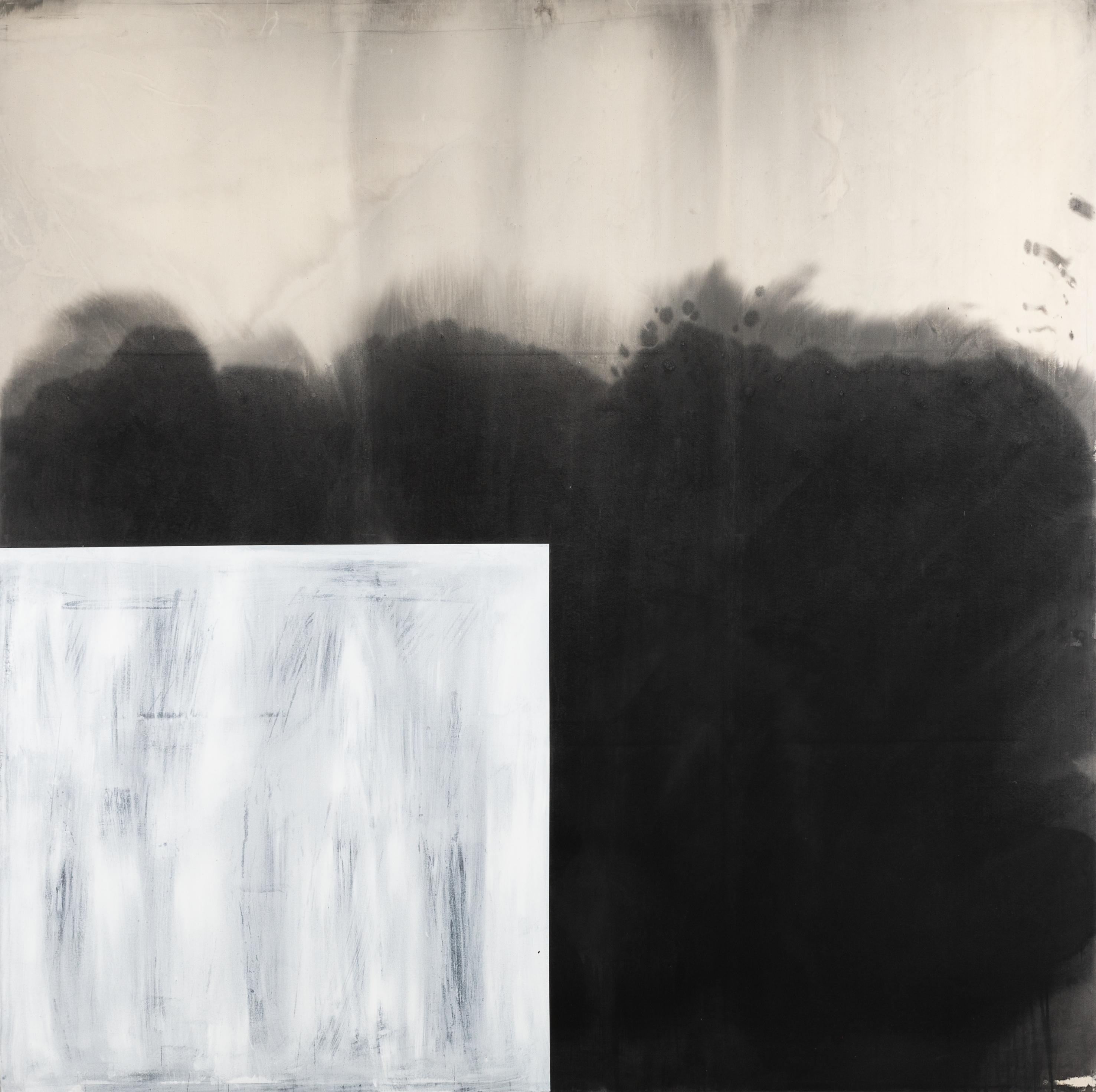 Den Första (The First), 1995 - 1997, Acrylic on canvas, 240 x 240 cm