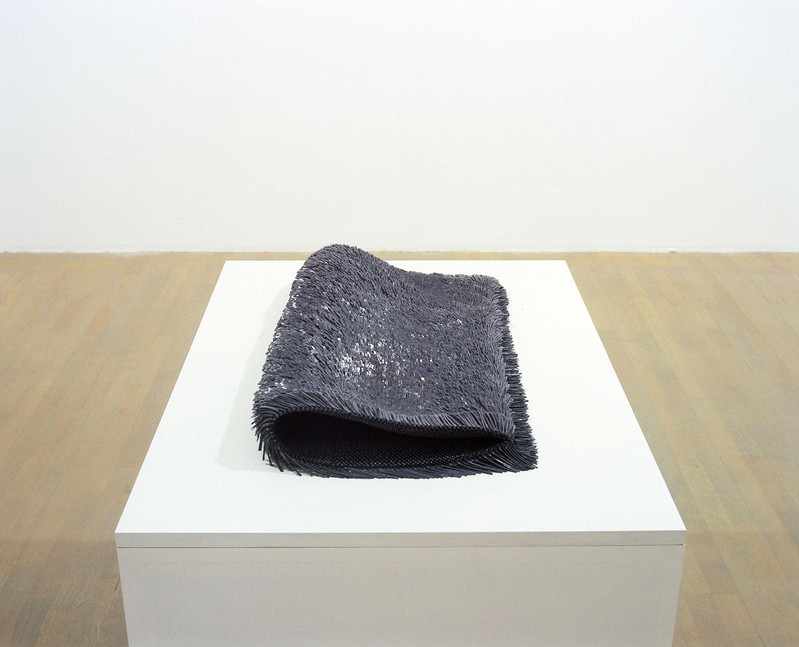 Sculpture II, 1998-1999, lead, steel, 9 x 76 x 39 cm