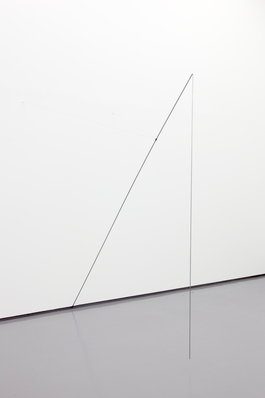 Sculpture II, 2004, steel, silver, 220 x 214 x 207 cm