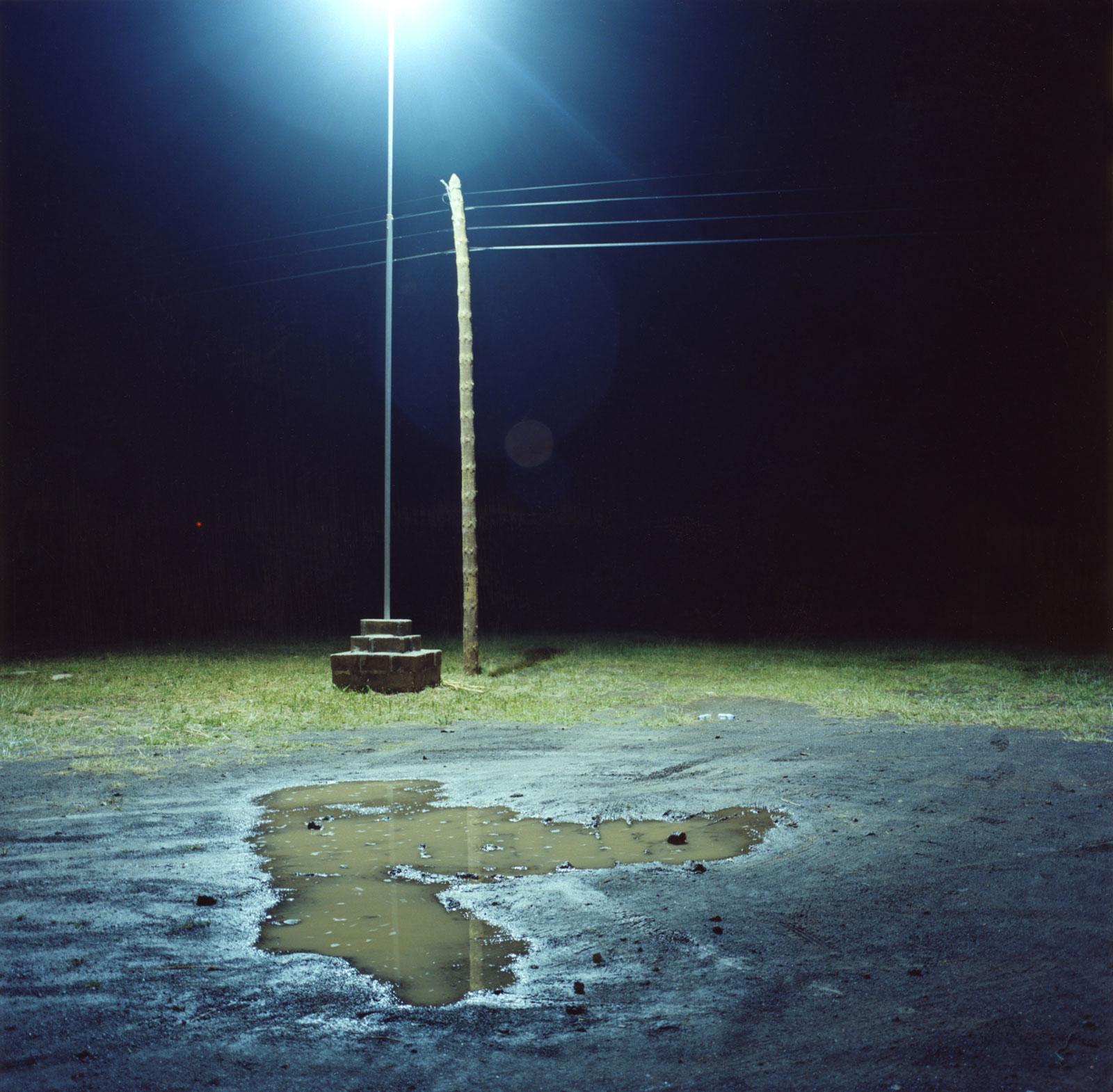 The Parking Place 01:20, 2008, c-print, 110 x 110 cm