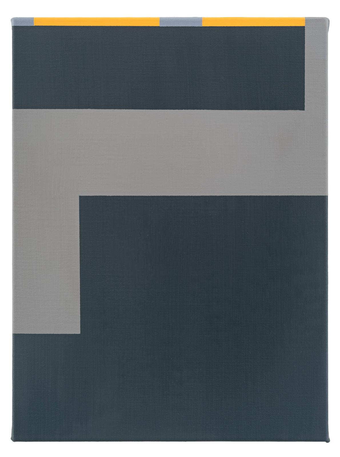 Vägen, 2019. Oil on canvas, 38,5 x 28,5 x 2 cm