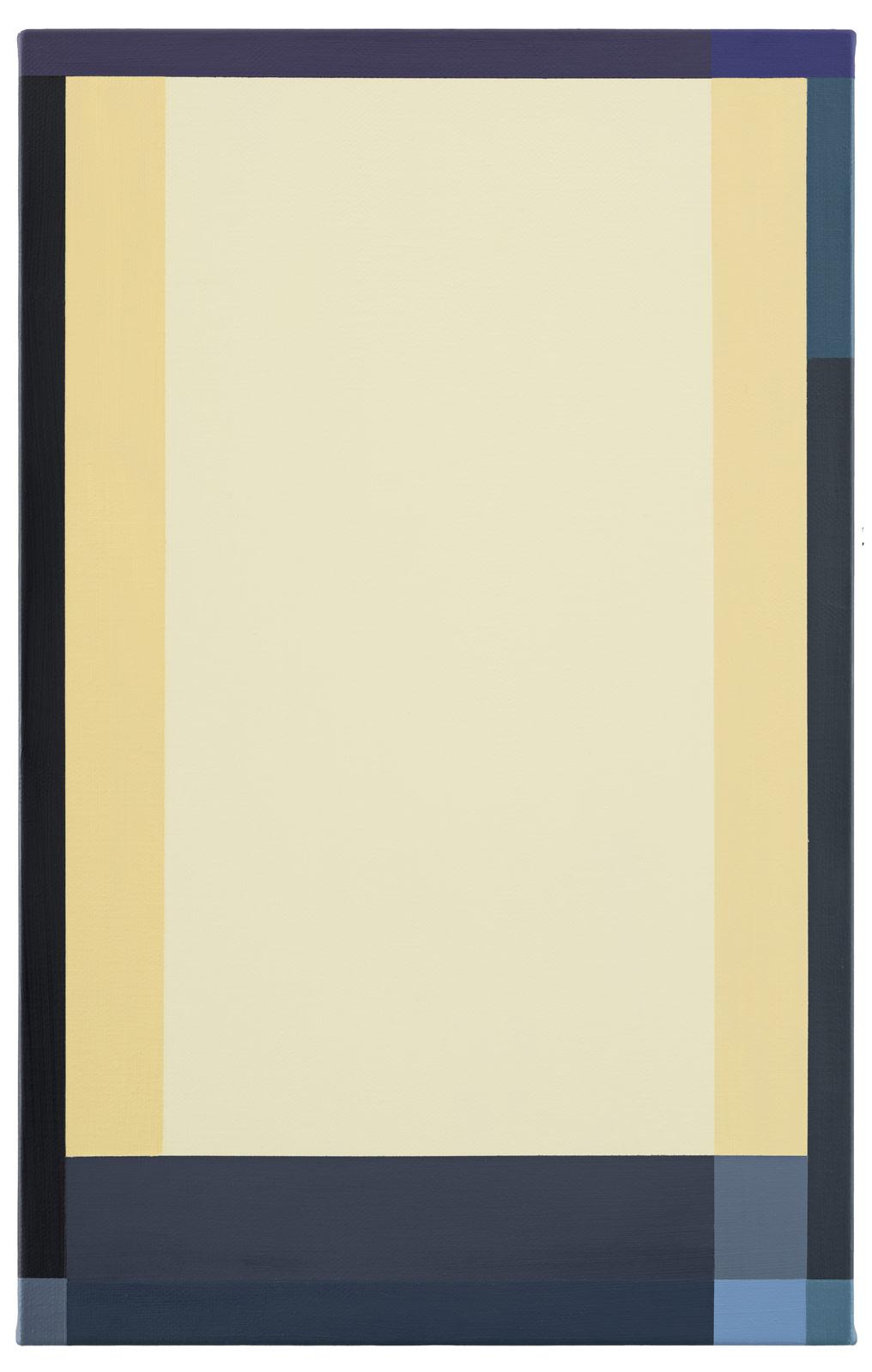Ljuset, 2019. Oil on canvas, 55,5 x 35,5 x 2 cm