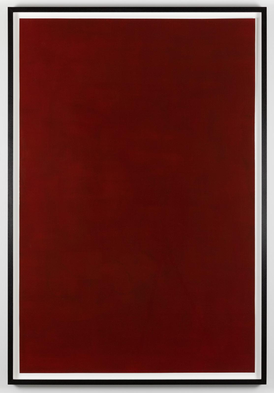 Det äventyrliga hjärtat, 2018. Watercolor and varnish on paper in artist´s frame, 158 x 108 x 5,2 cm