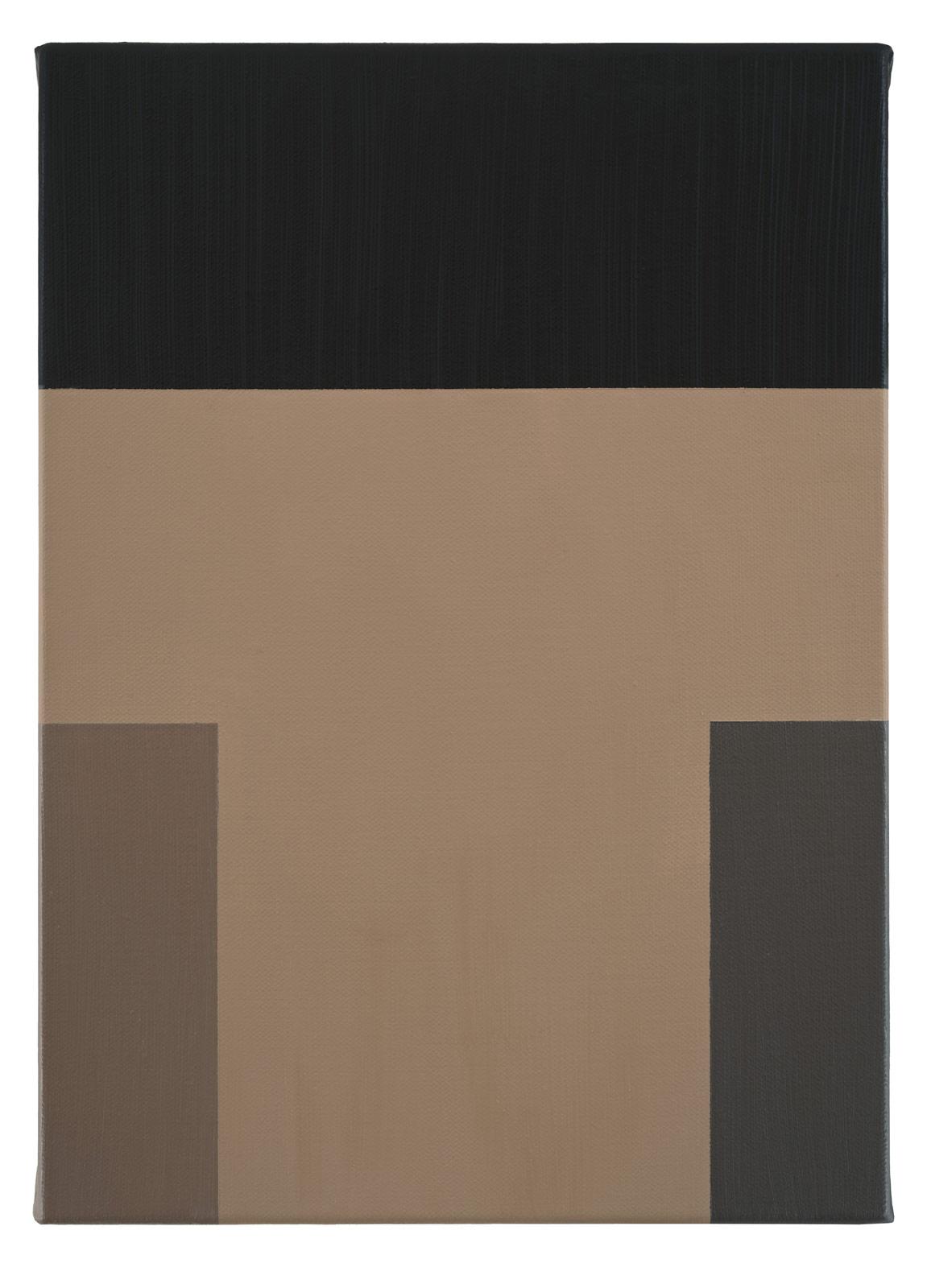Nöten, 2019. Oil on canvas, 34 x 24,5 x 2 cm
