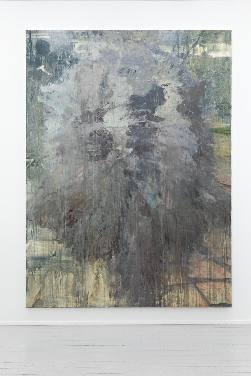 Bigger Half, flat, 2013. Oil on canvas, 274 x 203 cm