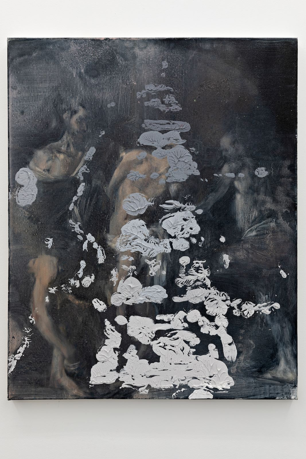 Zeroandones VII, 2018. Oil on canvas, 76 x 61 cm