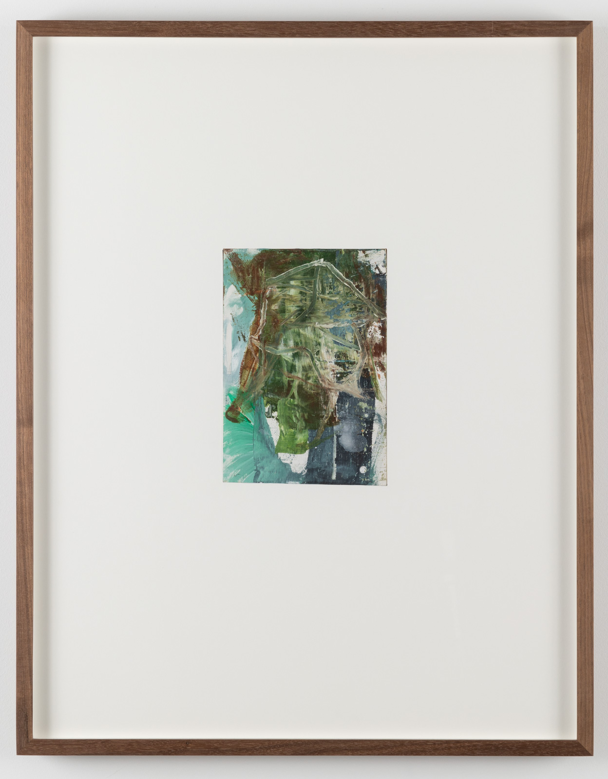 The Very Small Rubicon Paintings No. 06, 2019. Oil on panel in artist's frame, 17,5 x 13,5 cm, overall 65 x 51 x 4 cm