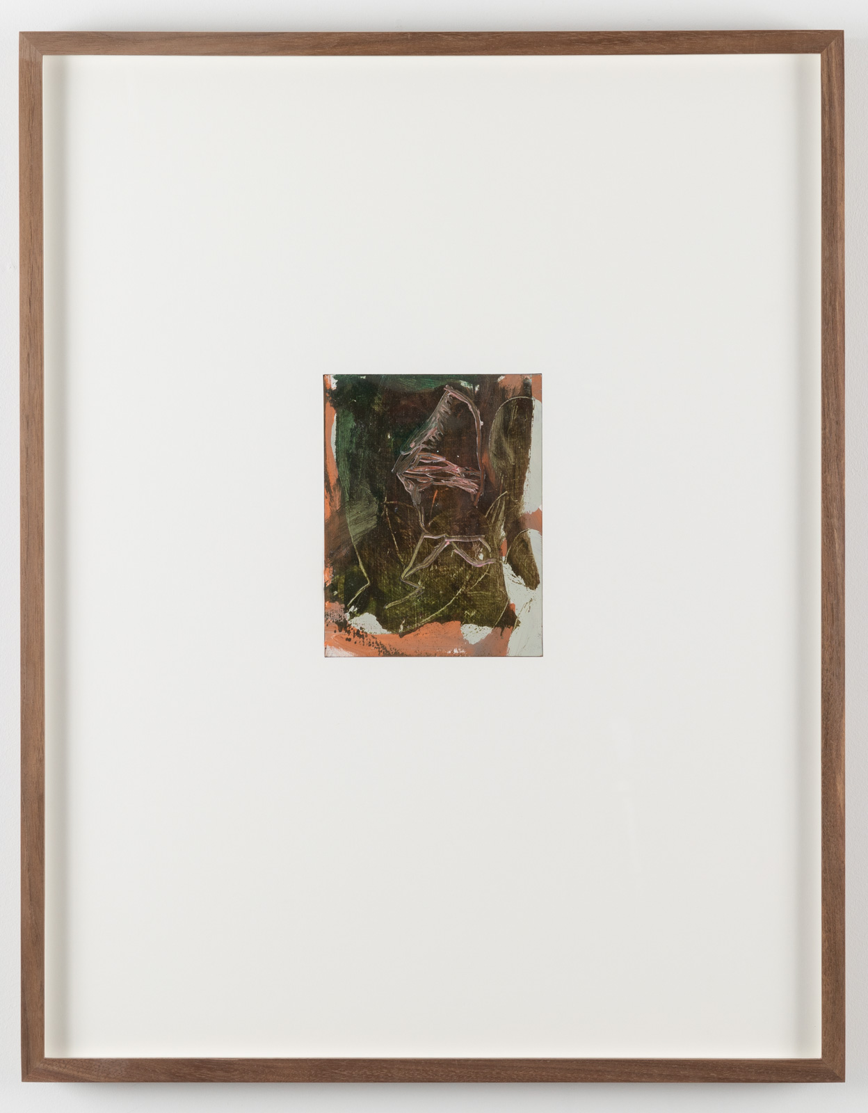 The Very Small Rubicon Paintings No. 03, 2019. Oil on panel in artist's frame, 17,5 x 13,5 cm, overall 65 x 51 x 4 cm