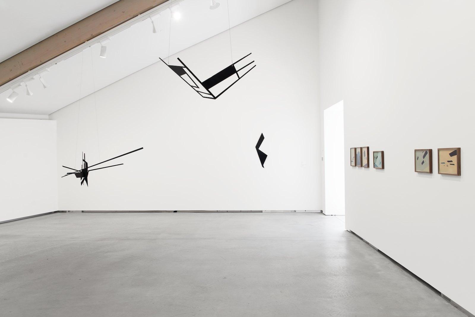 Installation view, NN-A, NN-A, NN-A, Ny Norsk Abstraksjon, Astrup Fearnley Museet, Oslo 2015