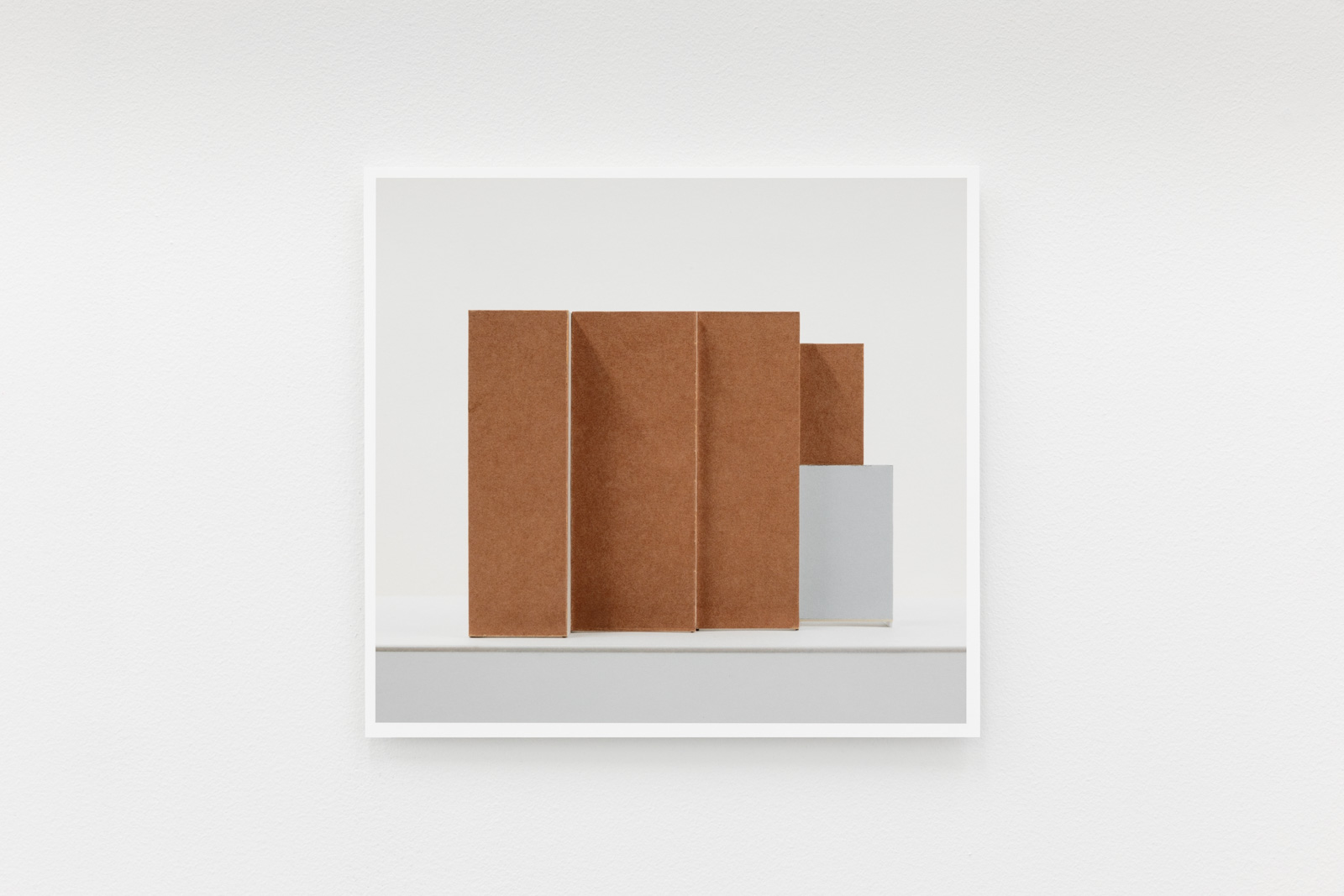 40 Pictures No 38/40, 2019. Archival inkjet print on Canson rag 210 gr. mounted on white acrylic glass. 31,7 x 34,4 cm. Ed. 5 + 2AP