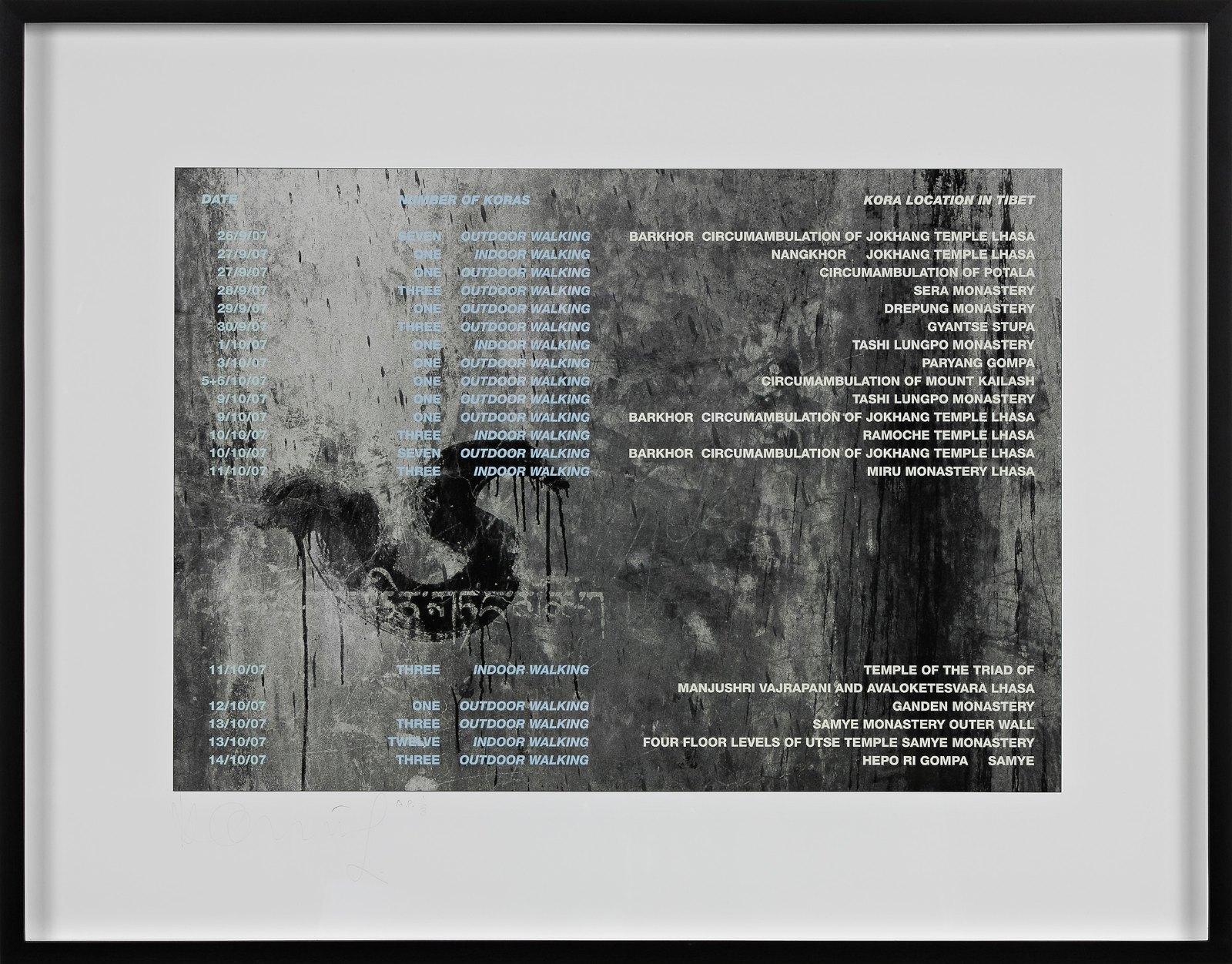 Kora List, 2007, iris print, 32.5 x 46.5 cm