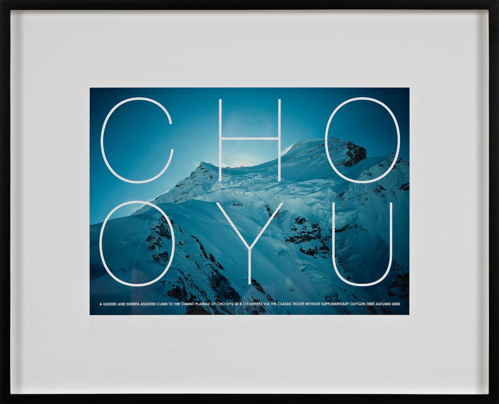 Cho Oyu, 2000, iris print, 28 x 39.5 cm