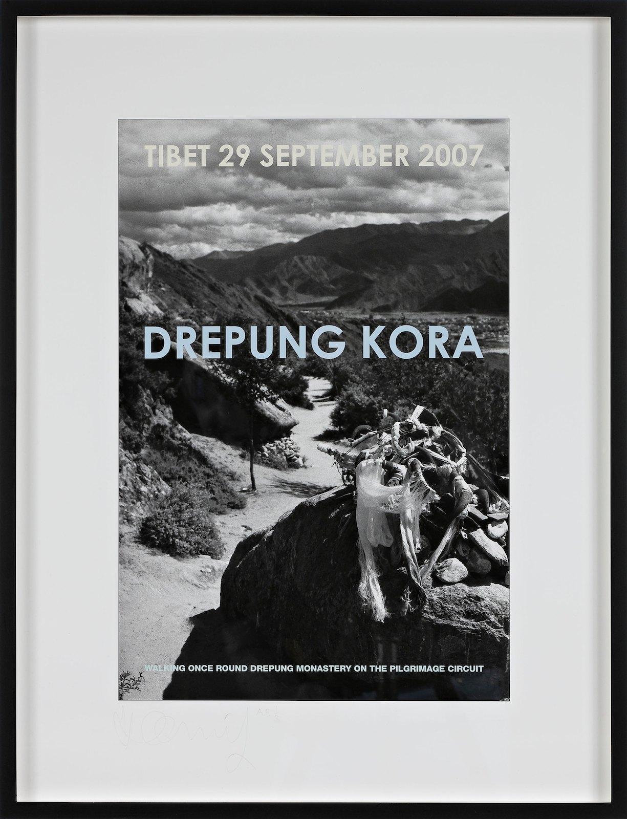 Drepung Kora, 2007, iris print, 45 x 30 cm